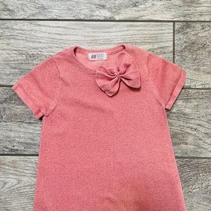 H&M sweater dress with sneaker 4/6 y